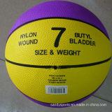 Basquetebol oficial da borracha do tamanho 7 do logotipo do OEM