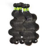 Выдвижения волос объемной волны людской девственницы бразильские людские