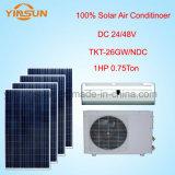 condizionatore d'aria 100% di energia solare di CC 24/48V (TKF-26GW/NDC)