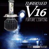 Автоматическая фара CREE H4 СИД света 40W 3600lm Turbo V16 СИД фары СИД головная