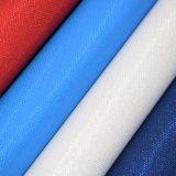 織り目加工の人工的なPUの革、袋の革、靴またはノートの革