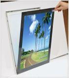 DEL annonçant le cadre léger magnétique mince d'étalage acrylique de signe