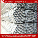 Tubo de acero redondo galvanizado laminado en caliente para andamios