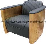 طي [أمريكل] أريكة في غلّة كرم جلد