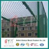 Hausgarten-heißer eingetauchter galvanisierter Kettenlink-Zaun Belüftung-überzogener Kettenlink-Zaun
