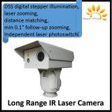 В 1 км-10км Диапазон ИК PTZ камеры лазера