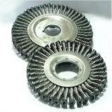 "6 "" X 5/8 "" - cepillo de la rueda del alambre del grano de 11 largueros"