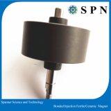 Einspritzung-geklebter Plastikferrit-Magnet für Motor