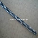 Le tissu de serpent de 2 noyaux a couvert le câble tressé