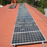 Кронштейн на крыше солнечной энергии