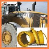 Il cerchione d'acciaio, la rotella resistente del gatto, KOMATSU spinge, Volvo il cerchione