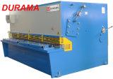 Machine de cisaillement à faisceau pivotant hydraulique de la série QC12y