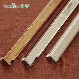 Bande en aluminium anodisée pour la décoration de tuile