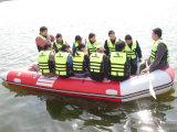Factory Supply Barco de resgate Barco de borracha inflável de barco da marinha