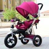 좋은 품질 다기능 아기 세발자전거, 유모차, 1대의 세발자전거에 대하여 4