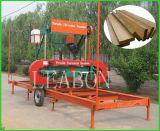 Serra de serra de fita horizontal elétrica de madeira cortada em madeira para venda