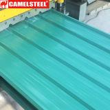 Las hojas de techos de metal corrugado suministros de paneles de techo