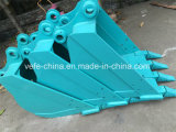 Personalizar cubetas da máquina escavadora de Kobelco Sk120 Sk200 Sk250 com dentes