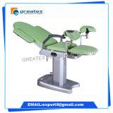 Cadeira de ginecologia elétrica hidraulica médica compatível