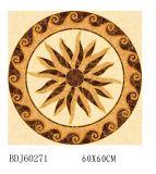 Motif carré en carreaux de céramique en porcelaine poli