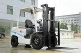 De milieu 3ton Vorkheftruck de Japanse Motor van Isuzu van de Benzine/van Toyota/van Nissan