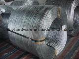 (浸る電子および熱い)電流を通された鉄ワイヤー