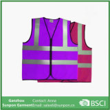 Venda por atacado Cheap Bright Color Hi-Vis Fluorescent Safety Reflective Vest
