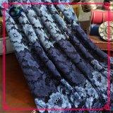 Commercio all'ingrosso poco costoso 100% del merletto della Doubai del tessuto del merletto del poliestere in Cina