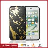 Novo 2018 Mármore ultrafinas Estampagem Caso Telefone TPU programável personalizados para iPhone