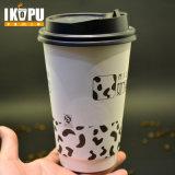 Desechables de doble pared de taza de café caliente