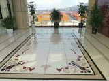 Décoration maison Water-Jet Nano carrelage de sol en pierre de verre de bord