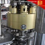Fuly 자동적인 주스는 알루미늄 깡통 충전물 기계 할 수 있다