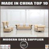 Trazione del sofà del cuoio della mobilia di disegno dell'inarcamento per il salone