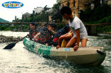 Großer Gewicht-Kapazitäts-Familien-Gebrauch-Plastik sitzt auf Spitzenfischen-Kajak