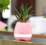 Светодиодная лампа с гарнитуры Bluetooth Музыка Smart Flower Pot