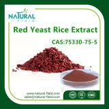 Extrait de riz à levure rouge à l'usine