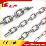 Catena a maglia di sollevamento ad alta resistenza del nero della catena della gru Chain G80