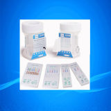Copos do teste do abuso de drogas da urina