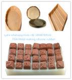 Schokoladen-Formen, die Silikon-Gummi-Flüssigkeit bilden