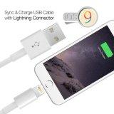 Câble de chargeur de synchro de câble de caractéristiques d'USB pour l'iPhone