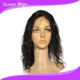 Parrucca del merletto della parte anteriore di onda del corpo dei capelli umani di Remy del Virgin dei Peruvian dei capelli 100% di Quercy