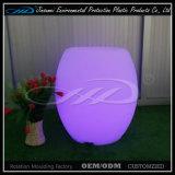 Sgabello di barra illuminato mobilia di plastica del randello di notte LED LED