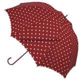 210t Teflon Strong Windproof 9 côtelettes Automatic Fold Umbrella
