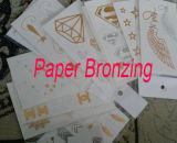 Qdtj Serien-Eibe-bronzierende Papiermaschine