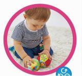 동물성 공이 연약한 채워진 장난감 견면 벨벳 아기에 의하여 덜걱덜걱 소리난다