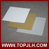 folha Pearlized do painel do Sublimation do metal do ouro de 0.5mm/0.7mm