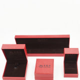 Выбивая кожа PU картины политуры упаковывая коробку Jewellry (J61-E1)