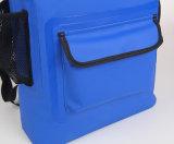 500d PVC 외부 포켓 (YKY7309)를 가진 방수 건조한 책가방 부대