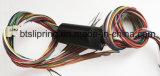内部の穴12.7mm穴のスリップリングのセリウム、FCC、RoHS、ISOを通した20mmの高さの8つの回路