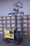 Torretta chiara diesel della lampada Halide di metallo del rimorchio